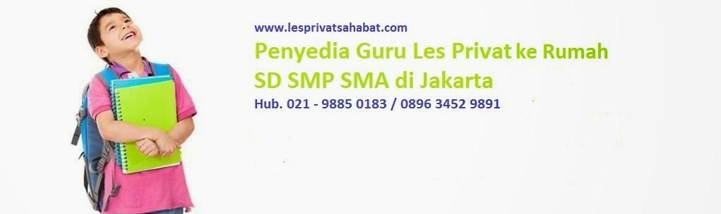 Les Privat Jakarta I 0812 8294 4080 I Les privat sahabat 13