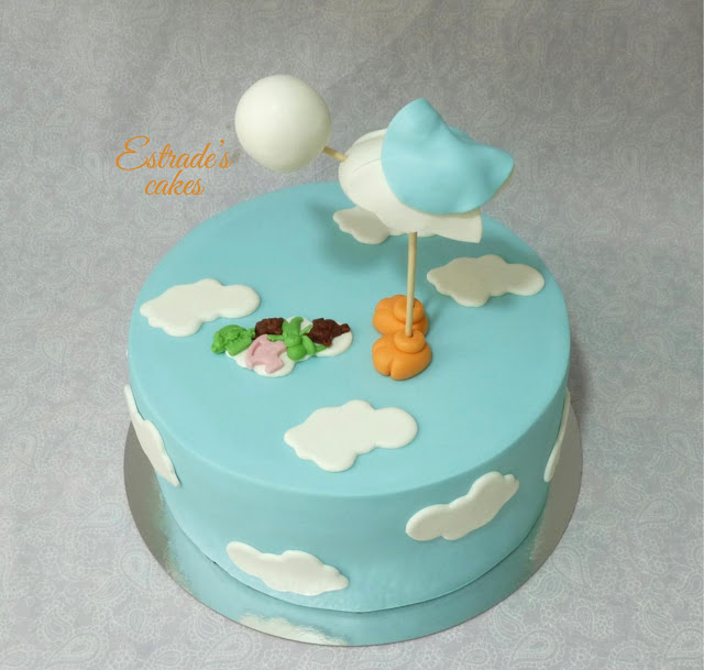 tarta para un bautizo 3