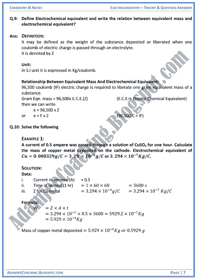 electrochemistry notes Download electrochemistry hsc notes document on this page you can read or download electrochemistry hsc notes in pdf format if you don't see any interesting for you, use our search.