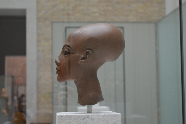 Egypt, museum, berlin, nefertiti, bust, head, quaintrelle, georgiana, quaint, germany, deutschland