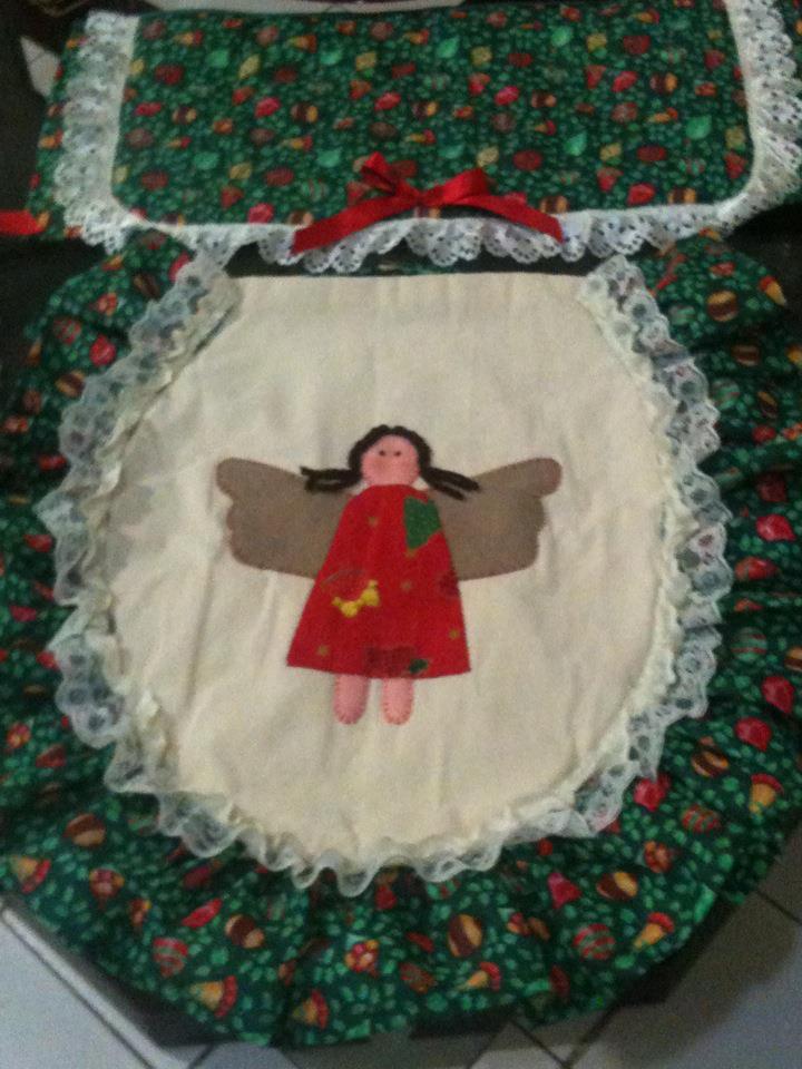Juegos Baño Navidad Fieltro:La casita de Paty: Navidadjuego de baño Angelita