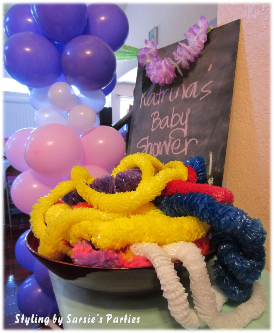 sarsie 39 s parties event styling and planning luau baby shower