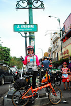 at Malioboro street sign post!