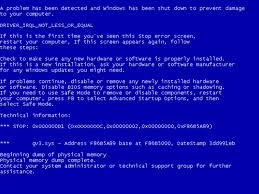 Overcoming Bluescreen On Laptops