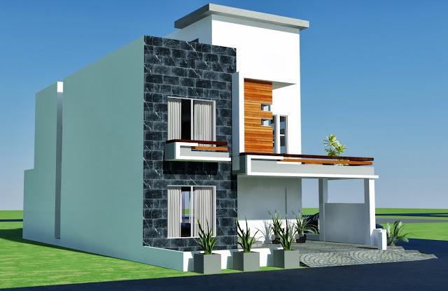 plan-Corner Plot- DESIGN IN LAHORE- PAKISTAN House Design, House Plan