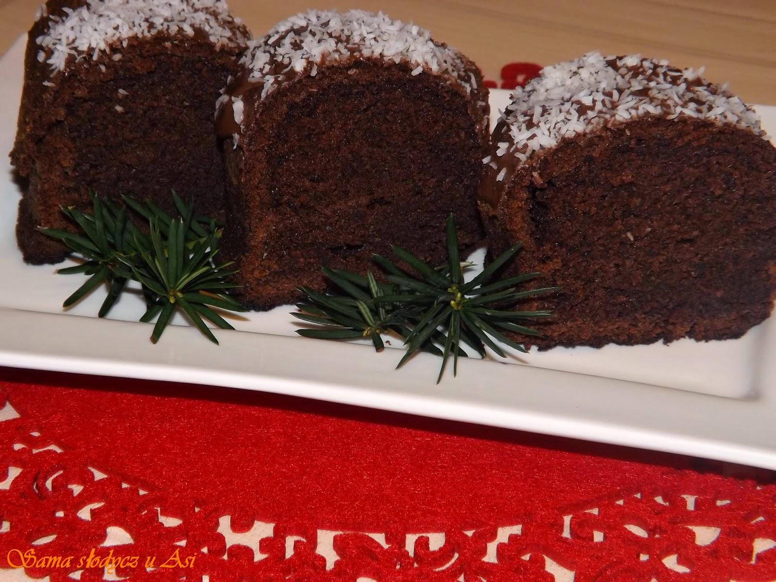Meksykańskie ciasto czekoladowe z kawą i nutellą