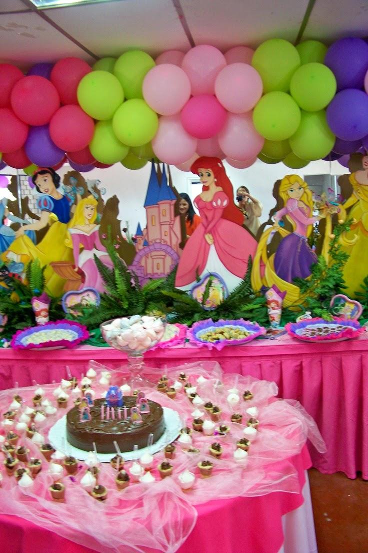 Decoraci n de fiestas infantiles de princesas disney - Fiestas infantiles princesas disney ...