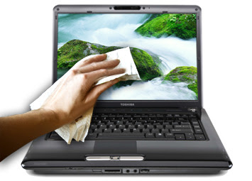 Cara Membersihkan Laptop Dengan Benar