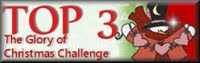 ♥ Top 3 bei The Glory of Christmas Challenge  /  Mai 2013 ♥