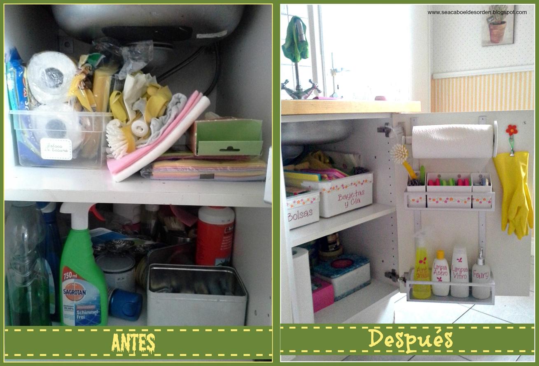 Se acab el desorden reto 1 superado el mueble del - Como organizar los muebles en una casa pequena ...