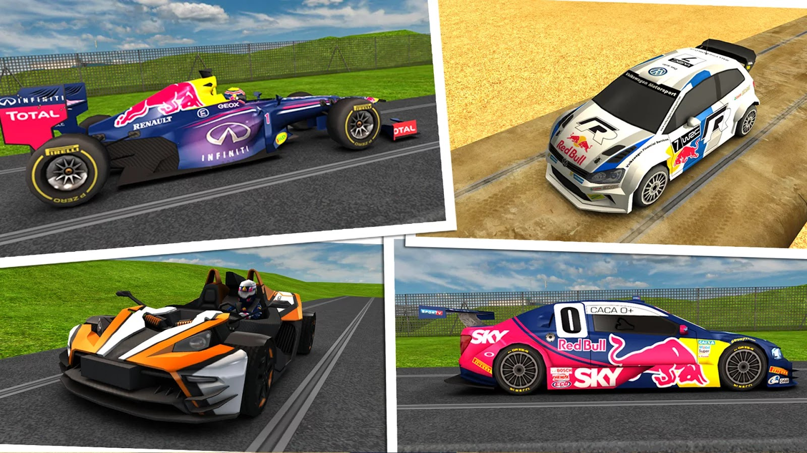 Red Bull Racers v1.04 Mod [Unlimited Money]