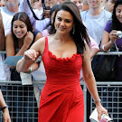 Preity Zinta in Red Dress  Photo Gallery