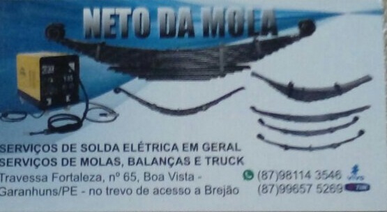Neto da Mola (87) 98114-3546. 99657-5269