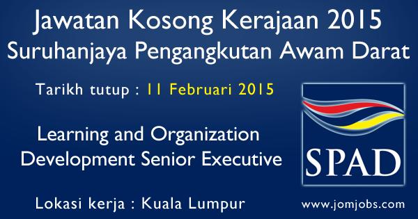 Jawatan Kosong SPAD 2015 Terkini Kuala Lumpur