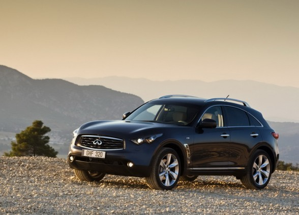 Crossover Infiniti FX represents a unique driving of aggressive design