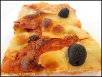 recette de pizza au chorizo
