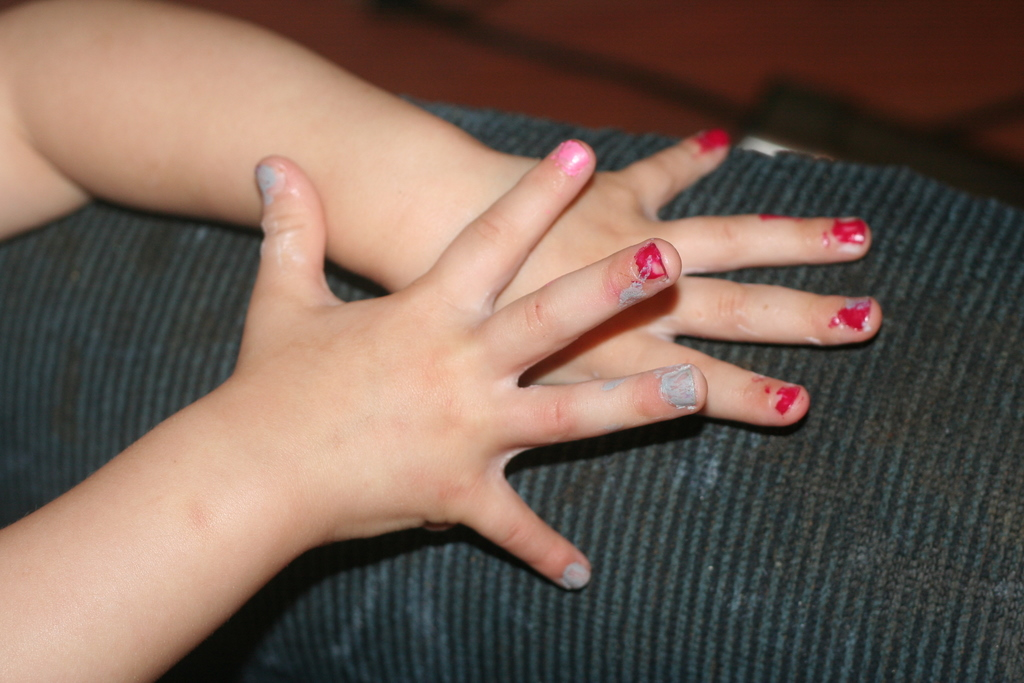 Pretty Painted Nails What Fingernails