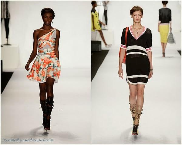 RebeccaMinkoff S/S2014 runway dresses