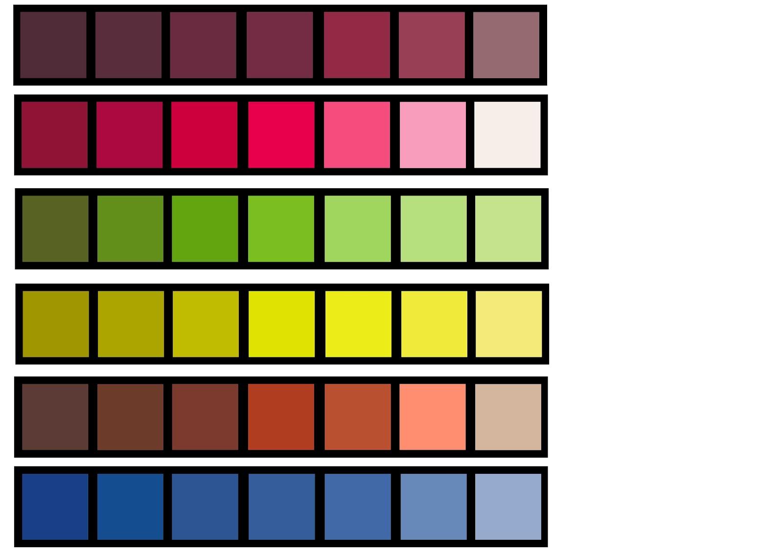 Colour Board 212 201 Fashion Studio