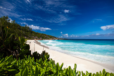 Petite Anse - Strand auf La Digue, Seychellen
