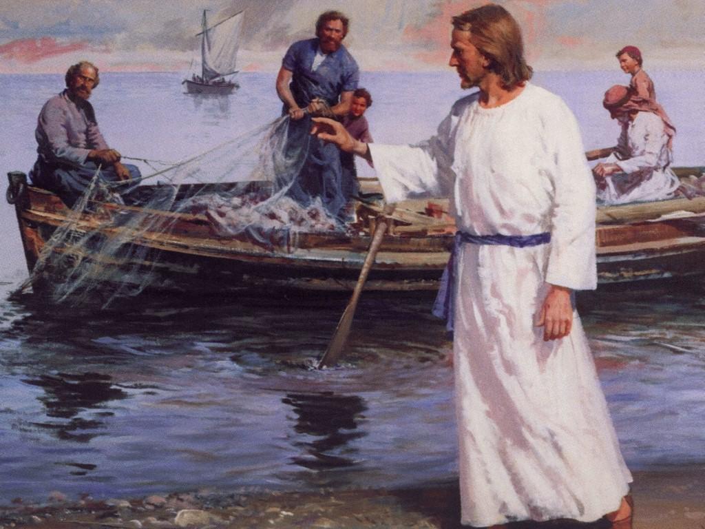 Los pescadores y Jesuscristo