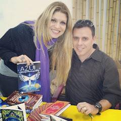 Com a amiga Adryana Ribeiro em São Paulo 2012