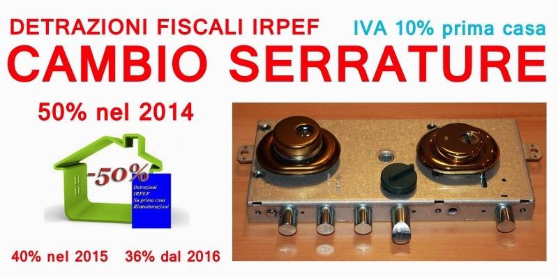 Sostituzione serrature treviso assistenza apertura porte - Detrazioni fiscali porte interne ...