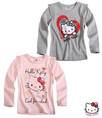 Model Baju Kaos Lengan Panjang Hello Kitty