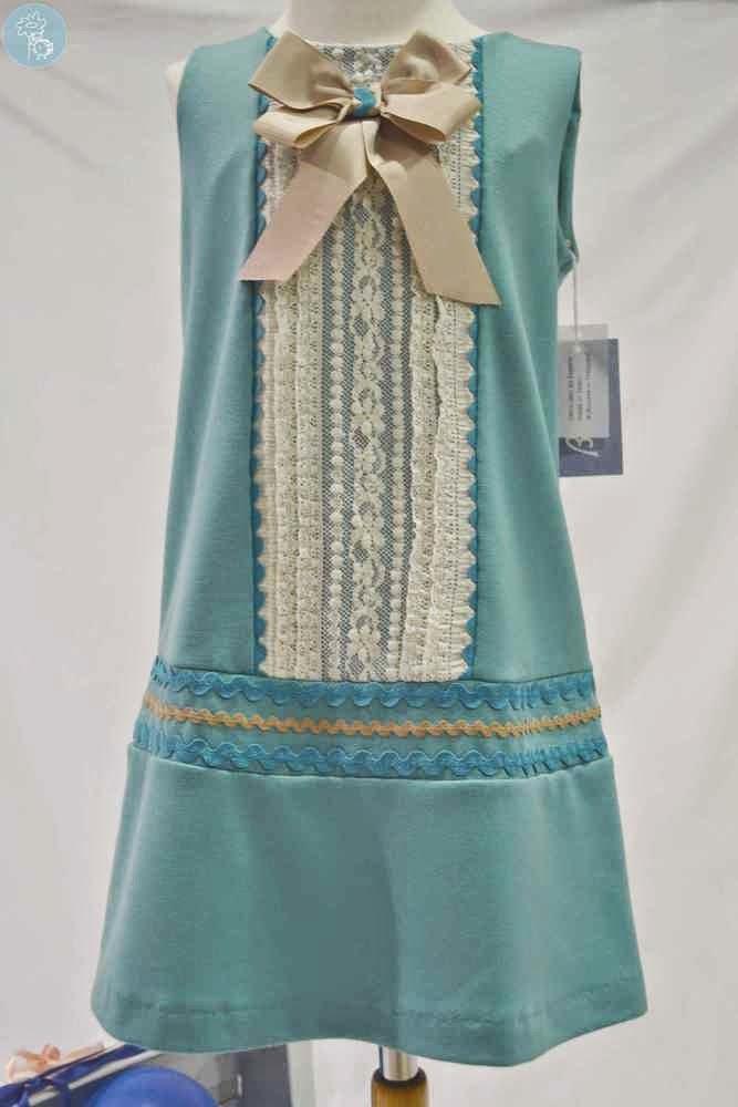 Babiné vestido moda infantil en tienda y blog Retamal