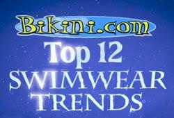 Fürdőruha bikini divat stílusok 2012-ben - top 12 fürdőruha bikini trend 2012