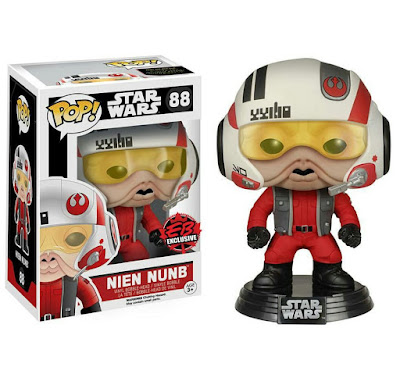 GameStop Exclusive Star Wars: The Force Awakens X-Wing Pilot Nien Nunb Pop! Vinyl Figure by Funko