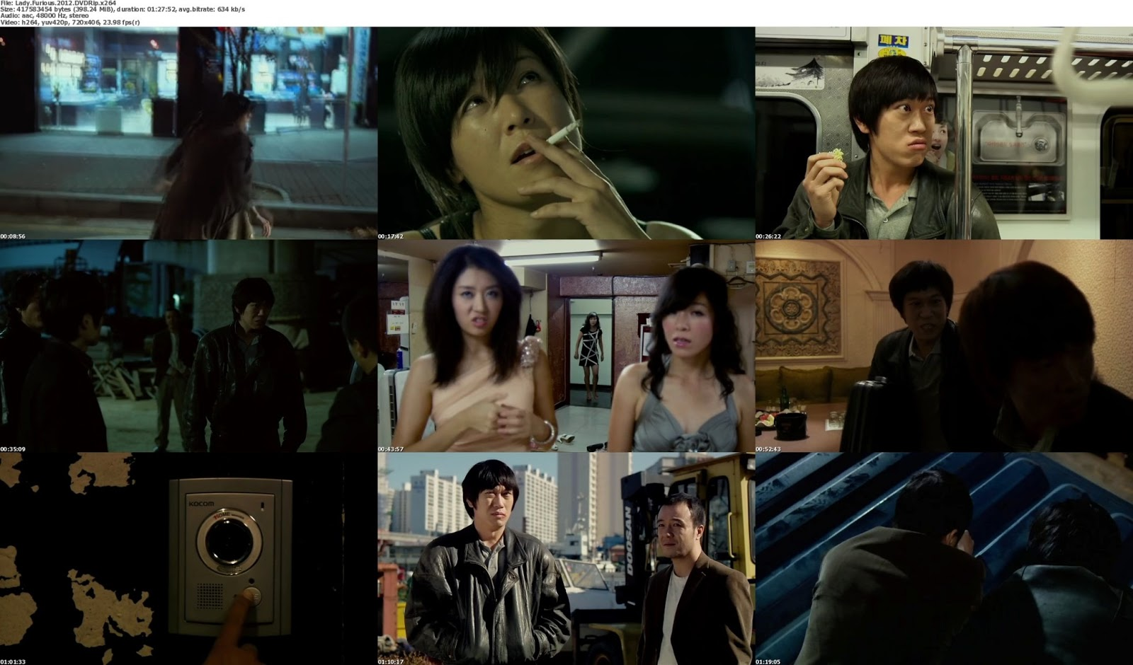 movie screenshot of The Beating Woman  fdmovie.com