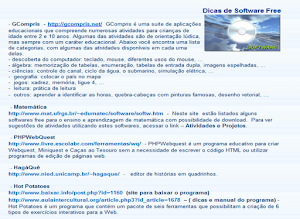 Dicas de Software Free