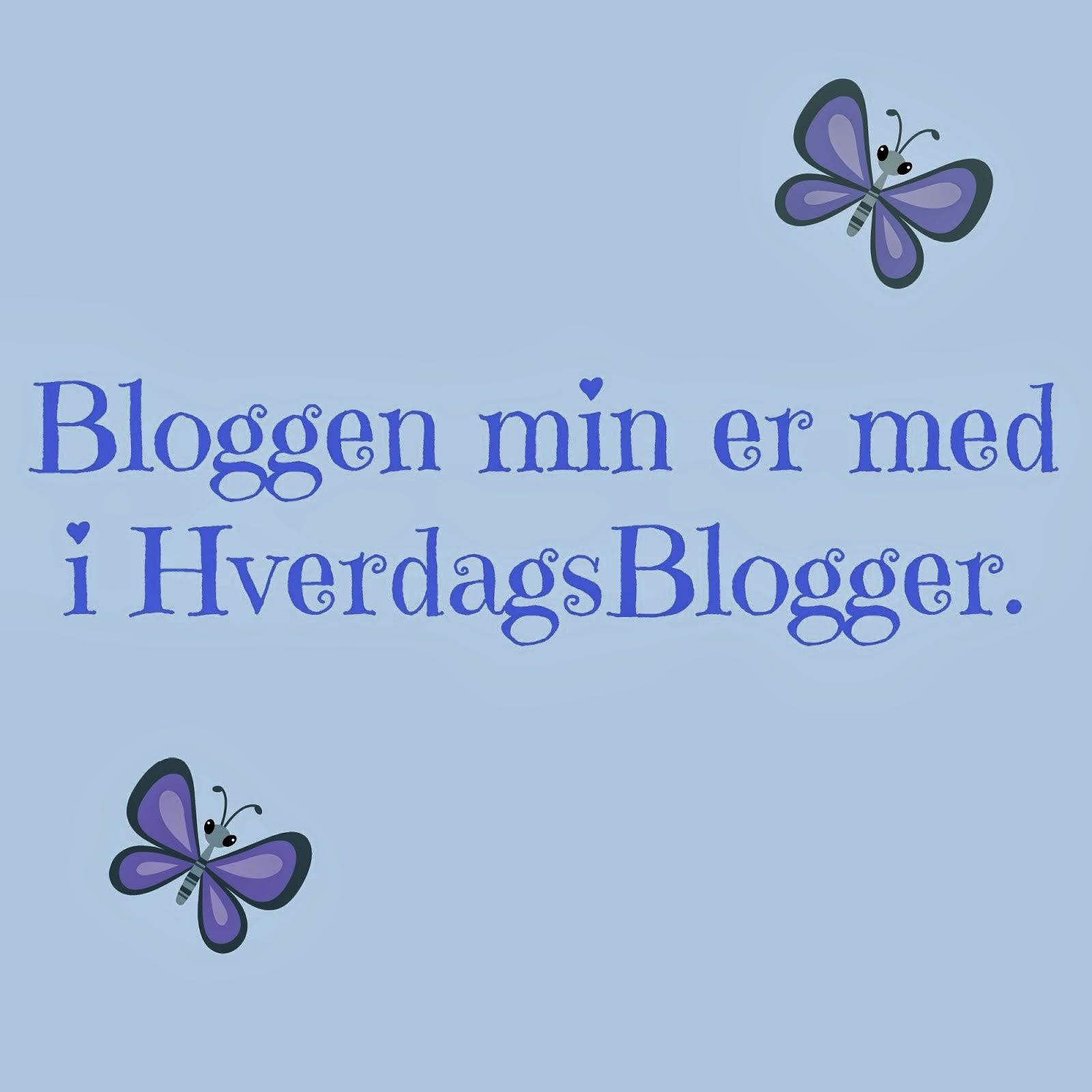 Jeg er med i hverdagsblogger