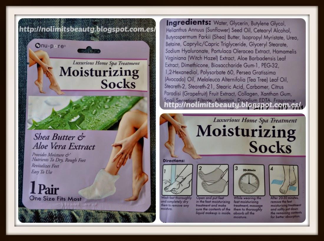 iHerb - Moisturizing Socks de Nu Pore