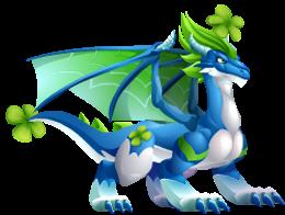imagen del dragon trebol