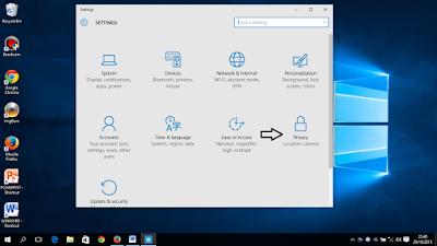 Cara Menonaktifkan Semua Fitur Privacy Di Windows 10
