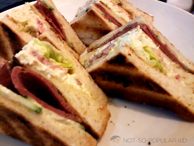 Toast Box Ham Clubhouse Sandwich