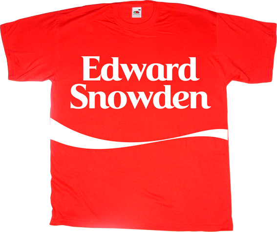coke coca cola fun edward Snowden activism freedom freedom of speech useless Politics t-shirt ephemeral-t-shirts useless capitalism