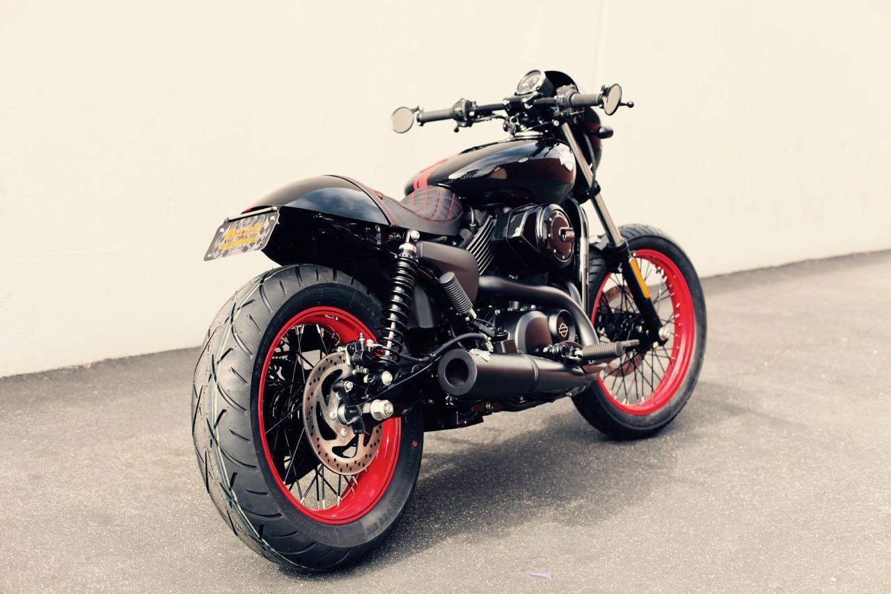 Custom Harley-Davidson Street 750