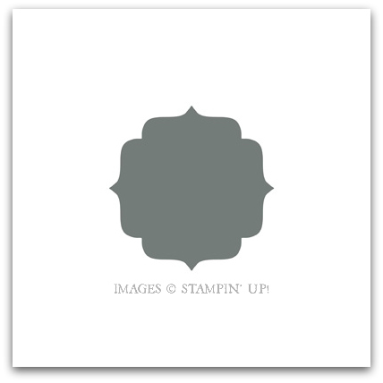 Stampin' Up! Label Bracket Punch Digital Download