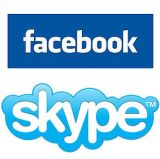 facebook video calling with skype