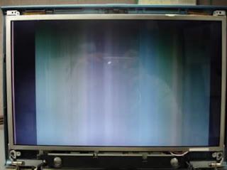 lcd laptop bergaris