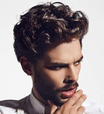 potongan rambut keriting pria 2016