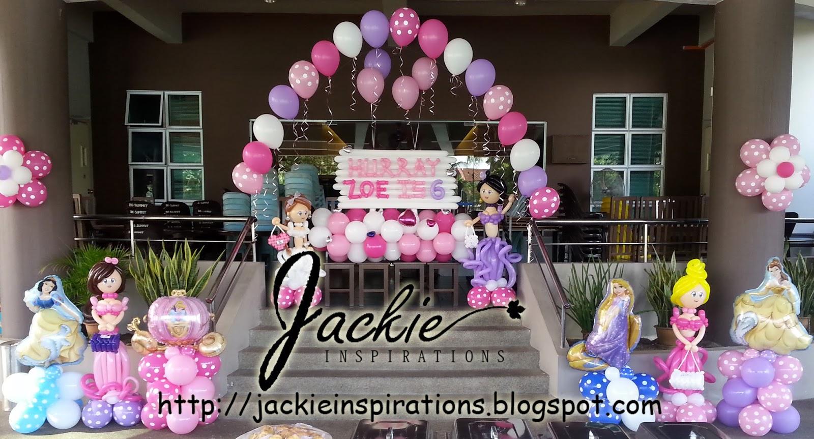 Princess Balloon Decoration Balloon Decorations For Weddings Birthday Parties Balloon