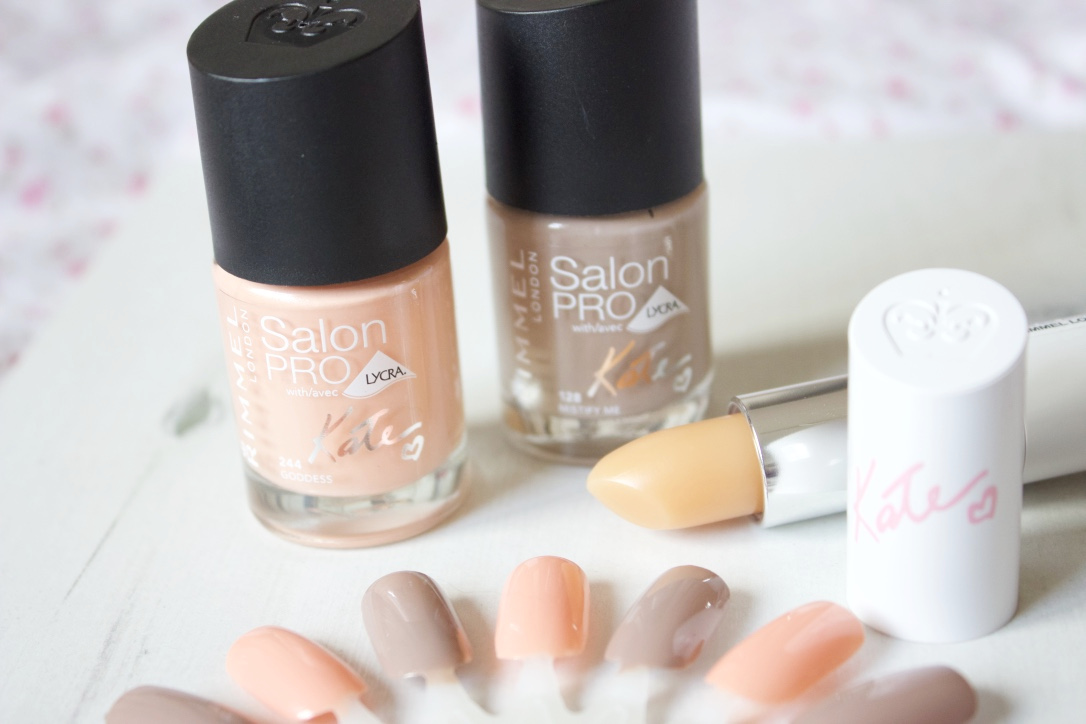 Rimmel London Salon Pro by Kate Moss Nude Nail Polishes