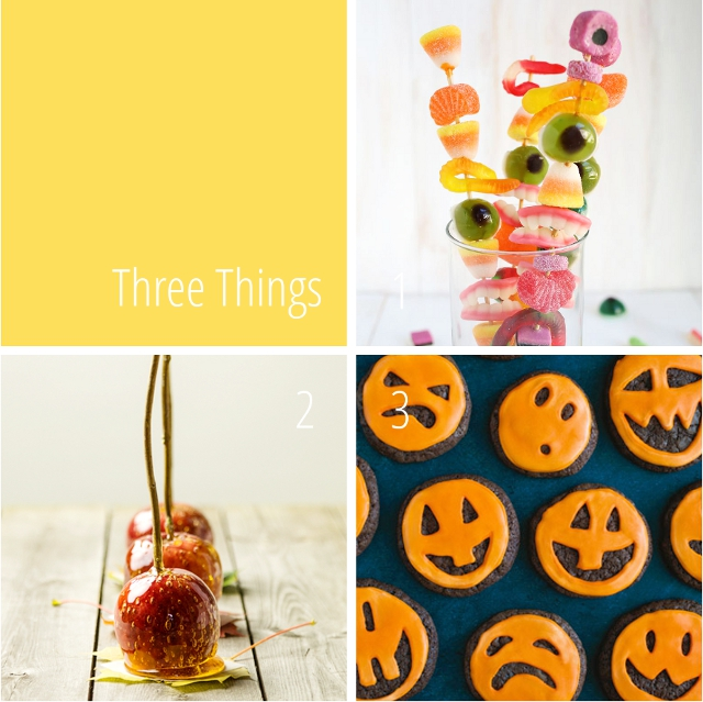 Three Things I Love: Last Minute Halloween Treats.