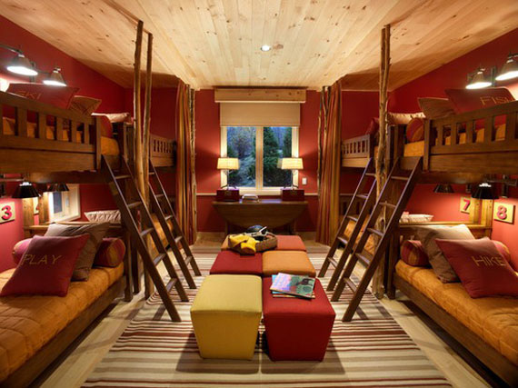 dormitorios con literas juveniles decorar disear y