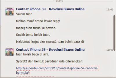 contest iphone 5S dan iphone 5C, review blog, sertai contest