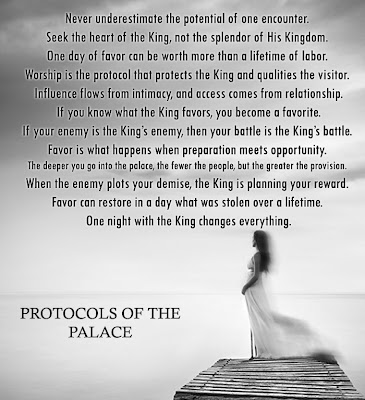 Protocols of the palace